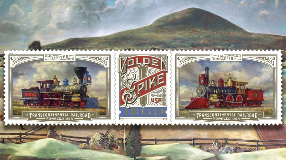 USA 2019 Intercontinental Railway Post Office Murals header