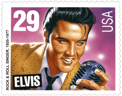 USA 1993 Legends of American Music Elvis Presly 29c stamp