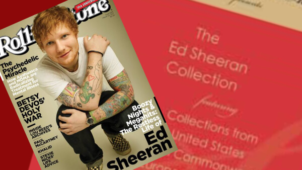 Ed Sheeran Collection header