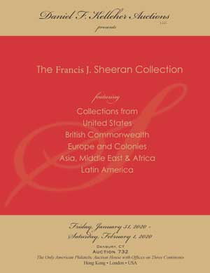 Cover of Kelleher Auctions Francis J Sheeran Collection