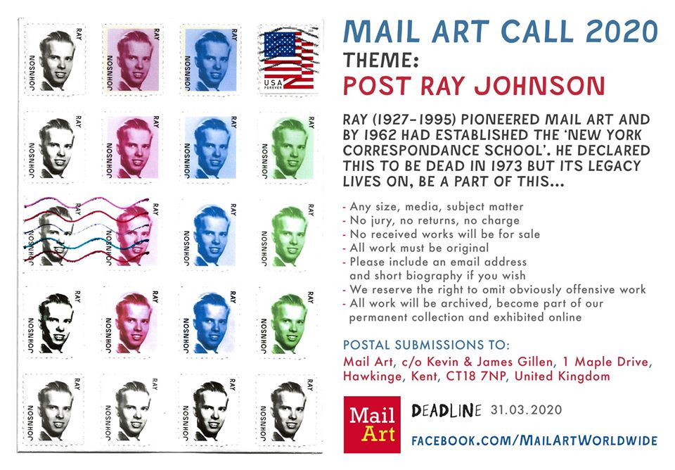 Mail Art Ray Johnson Callout