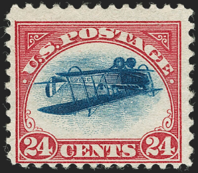 Siegel June 2020 Lot 223 USA 1918 24c Inverted Jenny