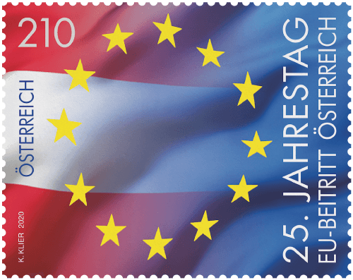 Austria 2020 25th Anniversary of joining the EU