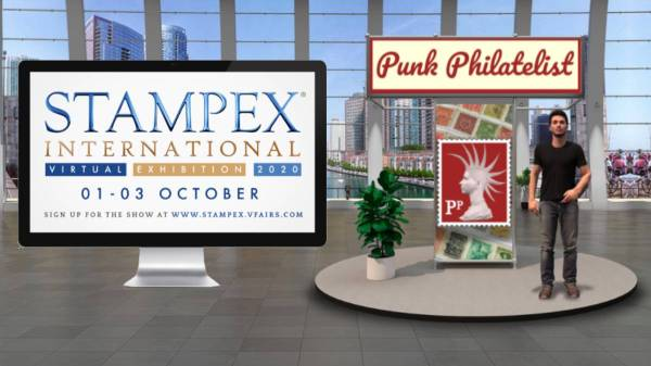 Virtual Stampex International Punk Philatelist header