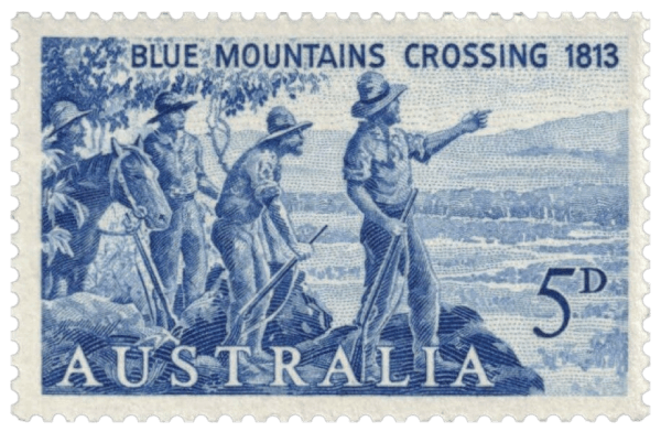 Australia 1963 150th Anniversary of the Crossing of the Blue Mountains
