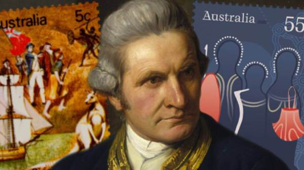 Punk Philatelist Captain Cook Black Stories Matter