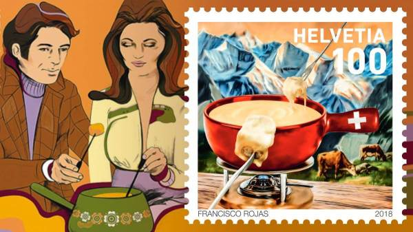 Punk Philatelist fondue is big this year