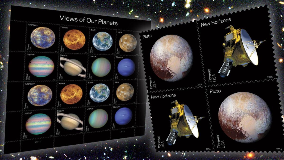 US 2016 Views of Our Planets Pluto Explored Punk Philatelist header