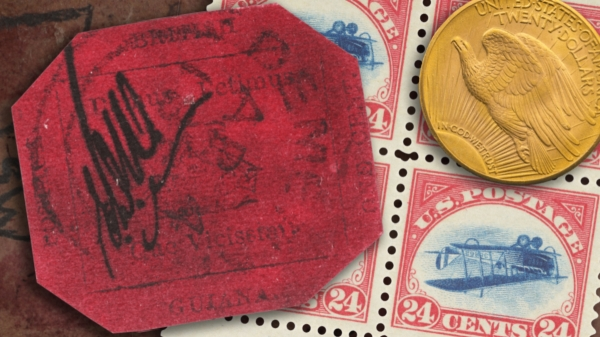 British Guiana 1856 1c magenta auction Punk Philatelist header