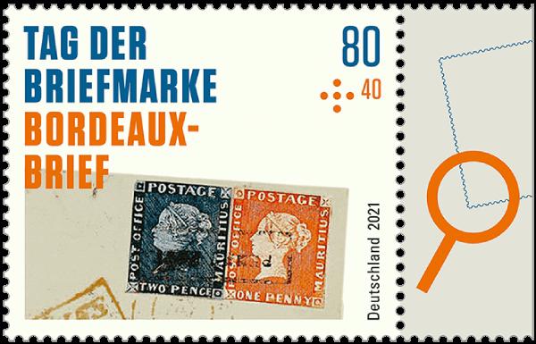 Germany 2021 Stamp Day Philatelic Treasures - Bordeaux Cover