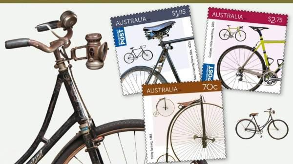 Australia 2015 Bicycles punk philatelist featue image