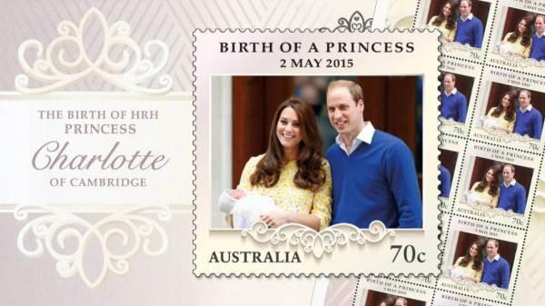 Australia 2015 Birth of a Princess Punk Philatelist feature image