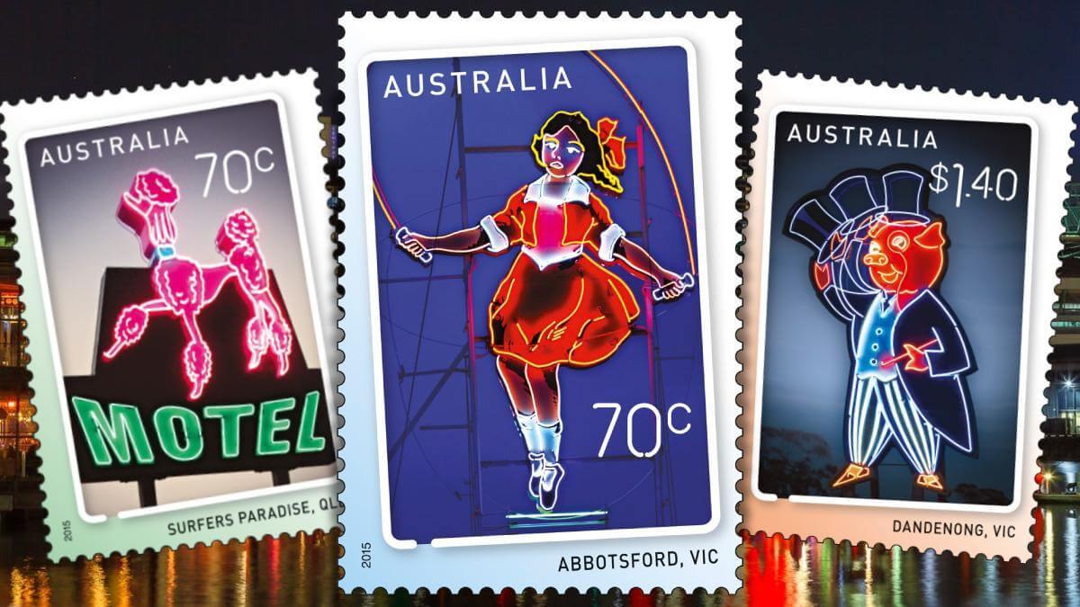 Australia 2015 Neon Art Punk Philatelist feature image